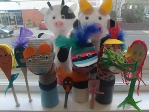 Finished Puppets